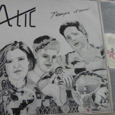 Discos de vinilo: ATIC - TEMPS D'AMOR -LP 1986 -BUEN ESTADO. Lote 49049869