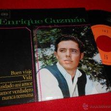 Discos de vinil: ENRIQUE GUZMAN BUEN VIAJE/VIDA/CUIDADO MI AMOR/UN AMOR VERDADERO NUNCA TERMINA EP 1964 EXCELENTE . Lote 49051172