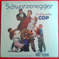 Discos de vinilo: RANDY EDELMAN - KINDERGARTEN COP (LP). Lote 49055125