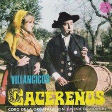 Discos de vinilo: VILLANCICOS CACEREÑOS - CORO JUVENIL DE PIORNAL - PAX, 1969. Lote 49055686