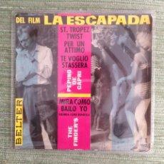 Discos de vinilo: PEPPINO DI CAPRI - THE FINDERS - EP 1963. Lote 49055826