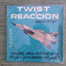 Discos de vinilo: PEPPINO DI CAPRI - EP BELTER 1962. Lote 49055864