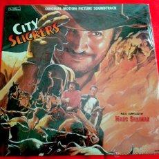 Discos de vinilo: MARC SHAIMAN - CITY SLICKERS (ORIGINAL MOTION PICTURE SOUNDTRACK) (LP). Lote 49056000