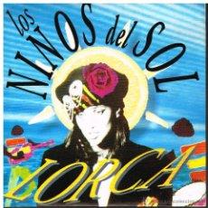 Disques de vinyle: LORCA - LOS NIÑOS DEL SOL / RITMO DE LA NOCHE - SINGLE 1991 - PROMO - MUY BUEN ESTADO. Lote 49056656