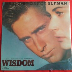 Discos de vinilo: DANNY ELFMAN - WISDOM (ORIGINAL MOTION PICTURE SOUNDTRACK) (LP). Lote 49057422