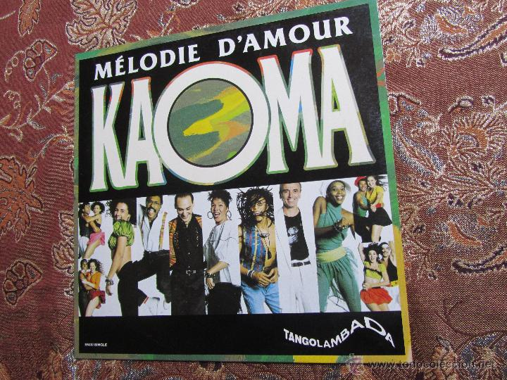KAOMA- MAXI-SINGLE DE VINILO- TITULO MELODIE D'AMOUR- ORIGINAL DEL 90- CON 2 TEMAS- NUEVO A ESTRENAR (Música - Discos de Vinilo - Maxi Singles - Étnicas y Músicas del Mundo)