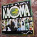 Discos de vinilo: KAOMA- MAXI-SINGLE DE VINILO- TITULO MELODIE D'AMOUR- ORIGINAL DEL 90- CON 2 TEMAS- NUEVO A ESTRENAR. Lote 49057760