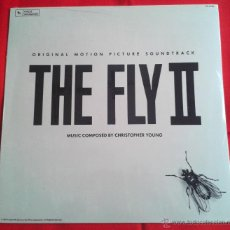 Discos de vinilo: CHRISTOPHER YOUNG – THE FLY II (ORIGINAL MOTION PICTURE SOUNDTRACK) (LP). Lote 49058030