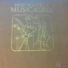 Discos de vinilo: HISTORIA DE LA MUSICA CODEX - EDITORIAL CODEX S.A. - 14 SINGLES. Lote 49061634