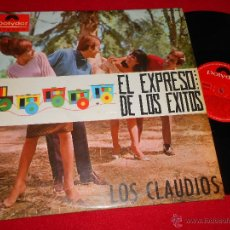 Discos de vinilo: LOS CLAUDIOS EL EXPRESO DE LOS EXITOS LP 1965 POLYDOR BEATLES ESPAÑA SPAIN. Lote 49064747