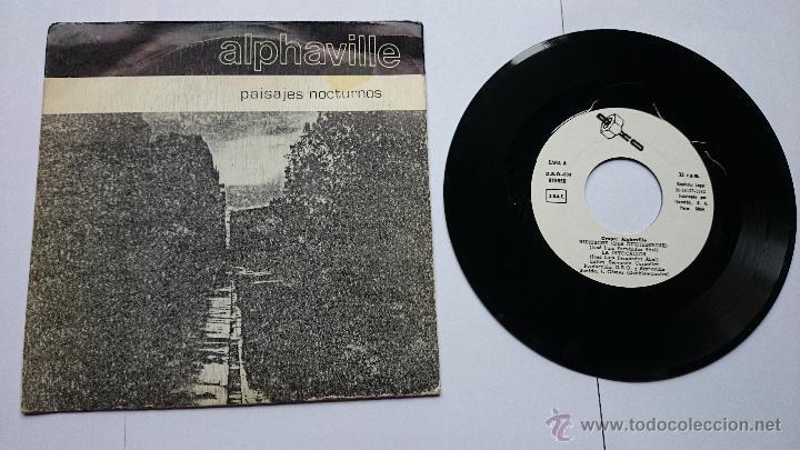 ALPHAVILLE - (EP PAISAJES NOCTURNOS 1982) - NIETZSCHE (DER GEISTESKRANK) / LA INVOCACION / TU DOLOR (Música - Discos de Vinilo - EPs - Grupos Españoles de los 70 y 80)