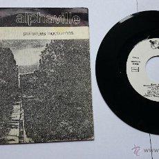 Discos de vinilo: ALPHAVILLE - (EP PAISAJES NOCTURNOS 1982) - NIETZSCHE (DER GEISTESKRANK) / LA INVOCACION / TU DOLOR. Lote 49064850