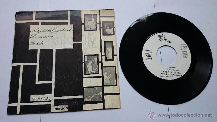 Discos de vinilo: ALPHAVILLE - (Ep PAISAJES NOCTURNOS 1982) - NIETZSCHE (DER GEISTESKRANK) / LA INVOCACION / TU DOLOR - Foto 2 - 49064850