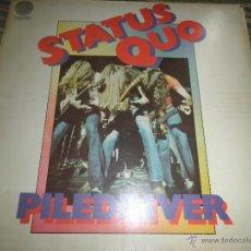 Discos de vinilo: STATUS QUO - PILEDRIVER LP - EDICION ALEMANA . VERTIGO RECORDS 1972 - STEREO - GATEFOLD COVER. Lote 55690764