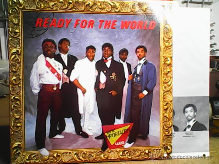 READY FOR THE WORLD LONG TIME COMING (Música - Discos - LP Vinilo - Disco y Dance)