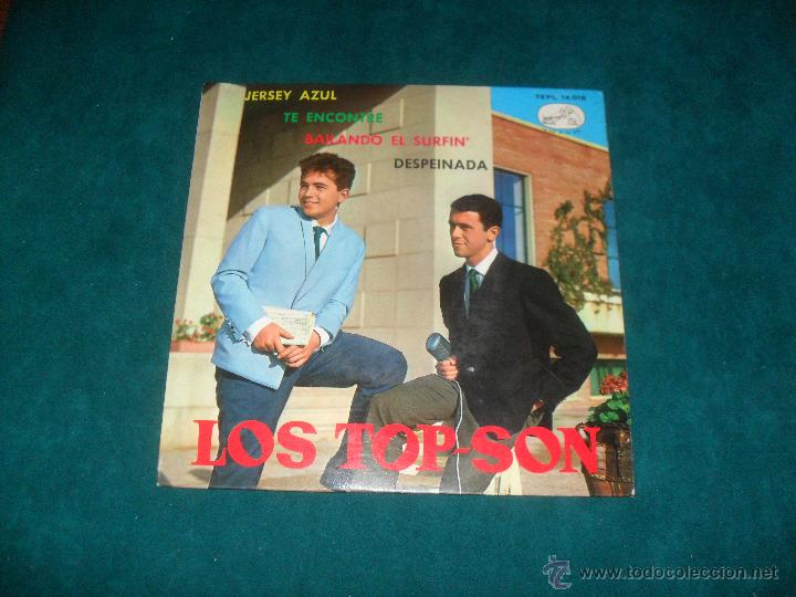 LOS TOP-SON, LA VOZ DE SU AMO 1964. EP. 4 TEMAS (Música - Discos de Vinilo - EPs - Solistas Españoles de los 50 y 60)