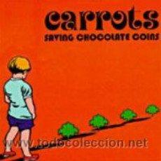 Discos de vinilo: CARROTS - 2LP SAVING CHOCOLATE COINS -TRILOBITE RECORDS 2015 RECORD STORE DAY - LIMITADO 300 / PIGMY. Lote 49074900