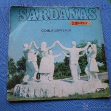 Discos de vinilo: SARDANAS COBLA LEPINALS LA SARDANA DE LES MONJES - MAR DE TOSSA AÑO 1971. Lote 49075293