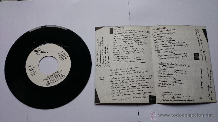 Discos de vinilo: ALPHAVILLE - (Ep PAISAJES NOCTURNOS 1982) - NIETZSCHE (DER GEISTESKRANK) / LA INVOCACION / TU DOLOR - Foto 3 - 49064850