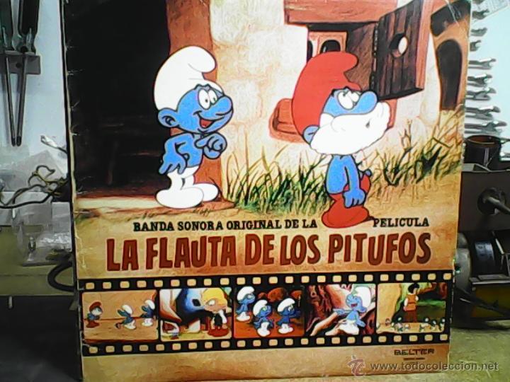 BSO LA FLAUTA DE LOS PITUFOS (Música - Discos - LP Vinilo - Bandas Sonoras y Música de Actores )