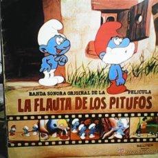 Discos de vinilo: BSO LA FLAUTA DE LOS PITUFOS. Lote 49077312