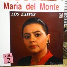 Discos de vinilo: MARIA DEL MONTELOS EXITOS. VOL2. Lote 49078880