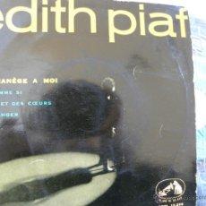 Discos de vinilo: EDITH PIAF -MON MANEGE A MOI -EP 1959. Lote 49080065