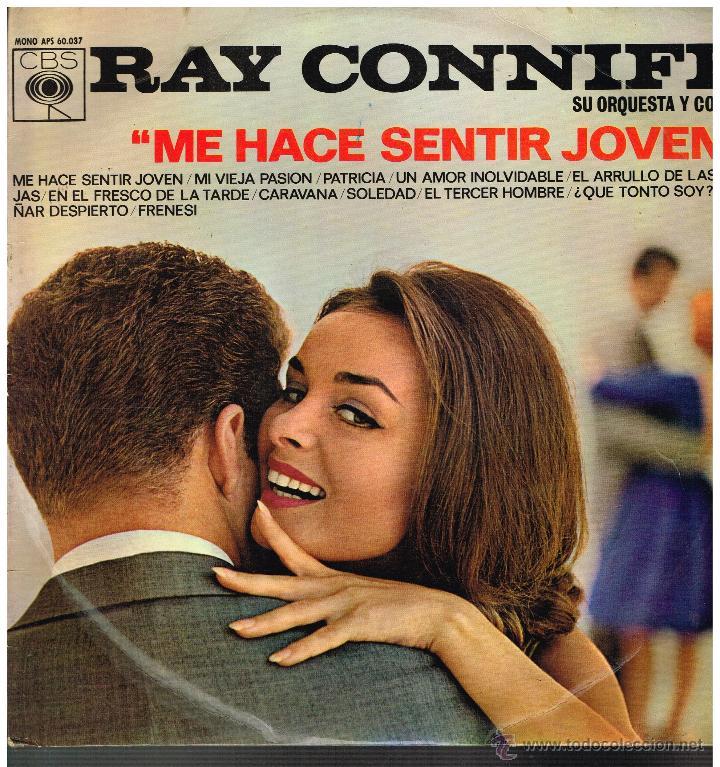 RAY CONNIFF - ME HACE SENTIR JOVEN - LP 1964 (Música - Discos - LP Vinilo - Orquestas)