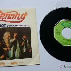 Discos de vinilo: BURNING - LIKE A SHOT (COMO UN ESTALLIDO) / ROCK 'N' ROLL (1975). Lote 49081620