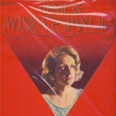 Dischi in vinile: GENIOS DE LA MUSICA ESPAÑOLA.- ROSA SABATER.- DE FEDERICO MOMPOU.- . Lote 49089137