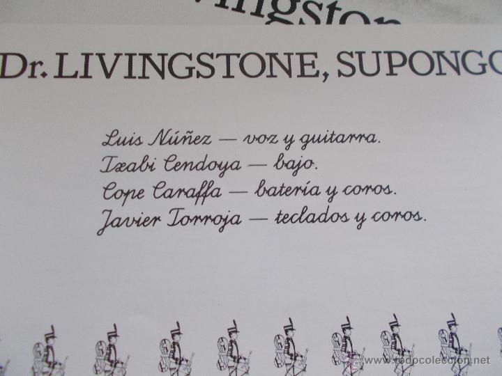 Discos de vinilo: DR. LIVINGSTONE SUPONGO. SIMPLICISIMUS - Foto 3 - 49095259