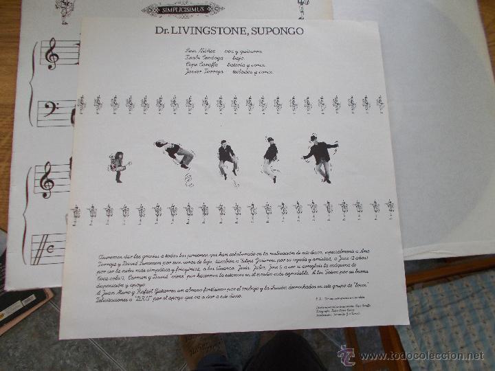 Discos de vinilo: DR. LIVINGSTONE SUPONGO. SIMPLICISIMUS - Foto 4 - 49095259