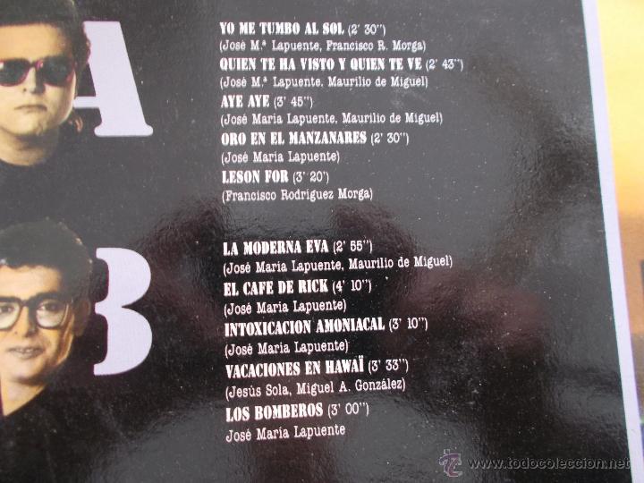 Discos de vinilo: HOMBRESTONES.ORO EN EL MANZANARES - Foto 2 - 49095320