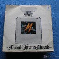 Discos de vinilo: M SINGLE 1979 MOONLIGHT AND MUZAK / WOMAN MAKE MAN ELECTRONIC SYNTH POP DISCO MCA RECORDS. Lote 49096854