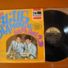 Discos de vinilo: LOS BLUE DIAMONDS EN ESPAÑOL FONTANA STEREO ESPAÑA 1969. Lote 49097989