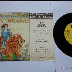 Discos de vinilo: COMMANDO 9 MM - ODIO EN SUDAMERICA / JOHNY COGE EL SUBFUSIL (PROMO+ENCARTE 1985). Lote 49099025