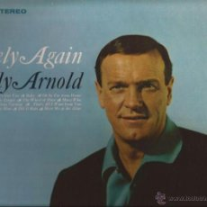 Discos de vinilo: LP-EDDY ARNOLD LONELY AGAIN RCA 3753-USA 1967-COUNTRY. Lote 49099294