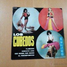 Discos de vinilo: LOS CUBEDOS - FLAMENCO + 3 EP 1965. Lote 49100569