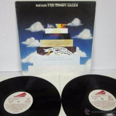 Discos de vinilo: THE MOODY BLUES - THIS IS THE MOODY BLUES / ASI SON - 2 LP - THRESHOLD 1974 SPAIN ORIGINAL. Lote 49112405