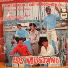 Discos de vinilo: LOS MUSTANG CATEDRAL DE WINCHESTER - LA VOZ DE SU AMO EMI / 1967. Lote 49113144