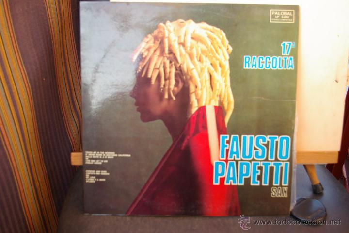 FAUSTO PAPETTI SAX -17 RACOLTA-SEXY COVER- (Música - Discos - LP Vinilo - Bandas Sonoras y Música de Actores )