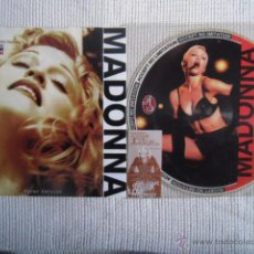 Discos de vinilo: MADONNA - '' THE GIRLIE SHOW HURRY! HURRY! '' LP PICTURE LIVE UNOFFICIAL MADE IN ITALY 1994. Lote 49115230