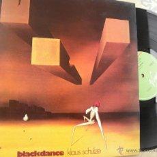 Discos de vinilo: KLAUS SCHULZE -BLACK DANCE -LP 1994 -BUEN ESTADO. Lote 49116587