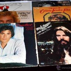 Discos de vinilo: LOTE 6 DISCOS VINILO LP 33 RPM...VARIADOS..DIFERENTES ESTADOS..FUNCIONAN TODOS... Lote 49116988