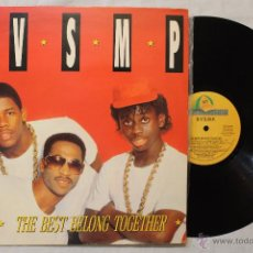 Discos de vinilo: B.V.S.M THE BEST BELONG TOGETHER LP VINYL MADE IN SPAIN 1988. Lote 49117403