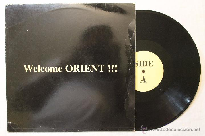 WELCOME ORIENT SHAKI IS BLACK NOT FOR SALES RARE DIFICIL MAXI VINYL (Música - Discos de Vinilo - EPs - Techno, Trance y House)