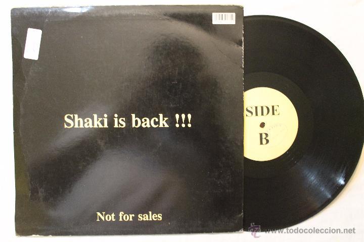 Discos de vinilo: WELCOME ORIENT SHAKI IS BLACK NOT FOR SALES RARE DIFICIL MAXI VINYL - Foto 2 - 49117643