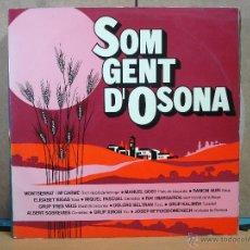 Discos de vinilo: ELISABET BIGAS / DOLORS BELTRAN / GRUP KALIMBA I MÉS - SOM GENT D'OSONA -VICTORIA V-1010 - 1977. Lote 49118367