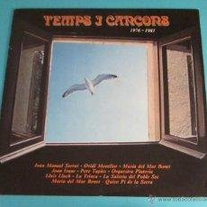 Discos de vinilo: TEMPS I CANÇONS. 1976 - 1981. Lote 49127700