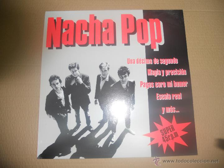 NACHA POP (MX) UNA DECIMA DE SEGUNDO +4 TRACKS AÑO 1984 (Música - Discos de Vinilo - Maxi Singles - Grupos Españoles de los 70 y 80)